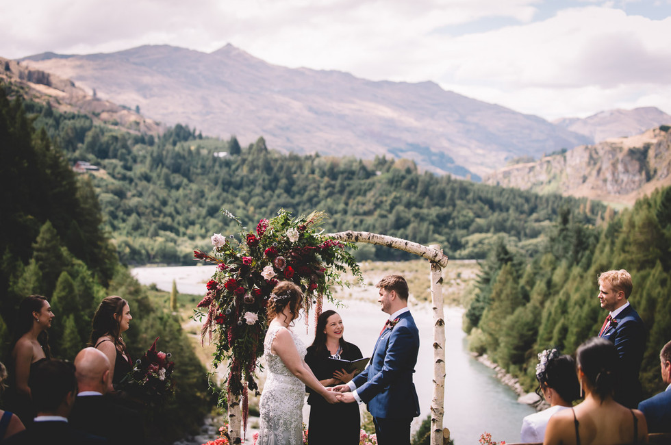Shauna and James - Married by Jodie Stuart