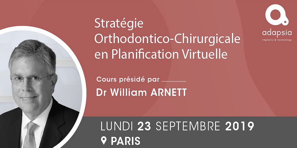 Cours Dr William ARNETT - Paris - ADAPSIA