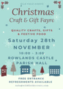 Rolands Castle Christmas Craft & Gift Fa