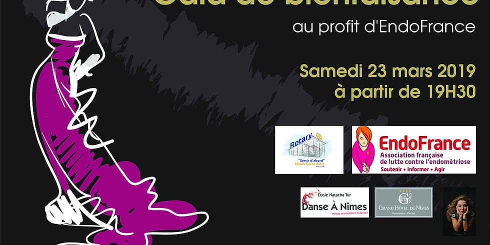 Gala Rotary Nîmes Carré d'art 2019 - EndoFrance