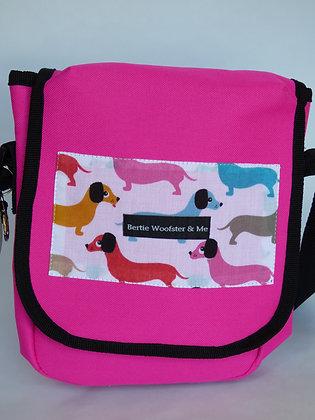 Bright Pink - Sausage Dog Design