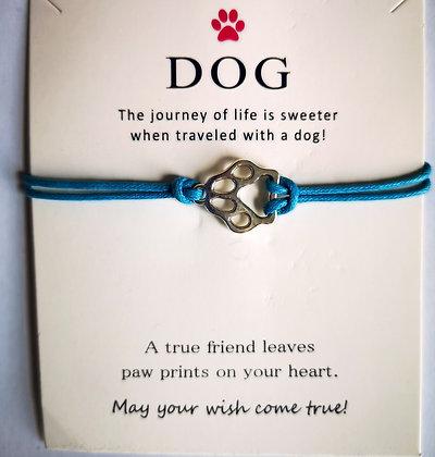 Dog Wish Bracelet - Turquoise