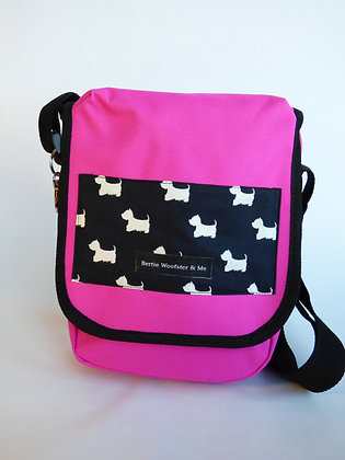 Bright Pink - Scottie Dog Design