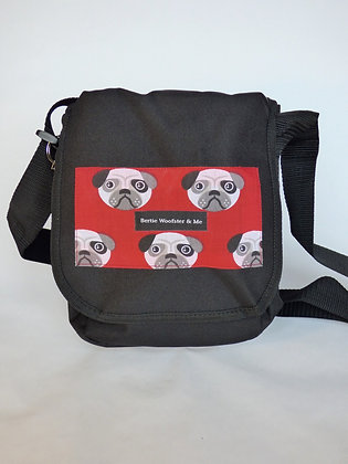 Black - Red Pug Design