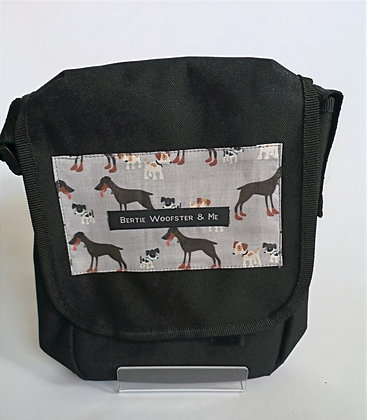 Black - Large and Small Dogs Design