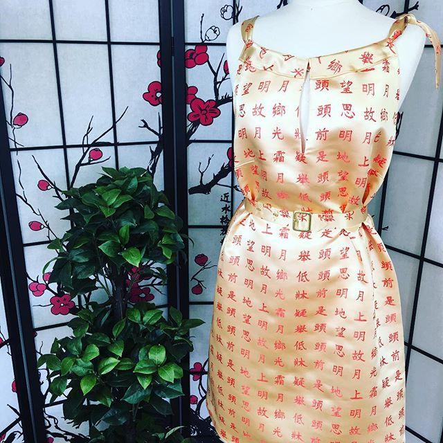 Asian Uptown Dress