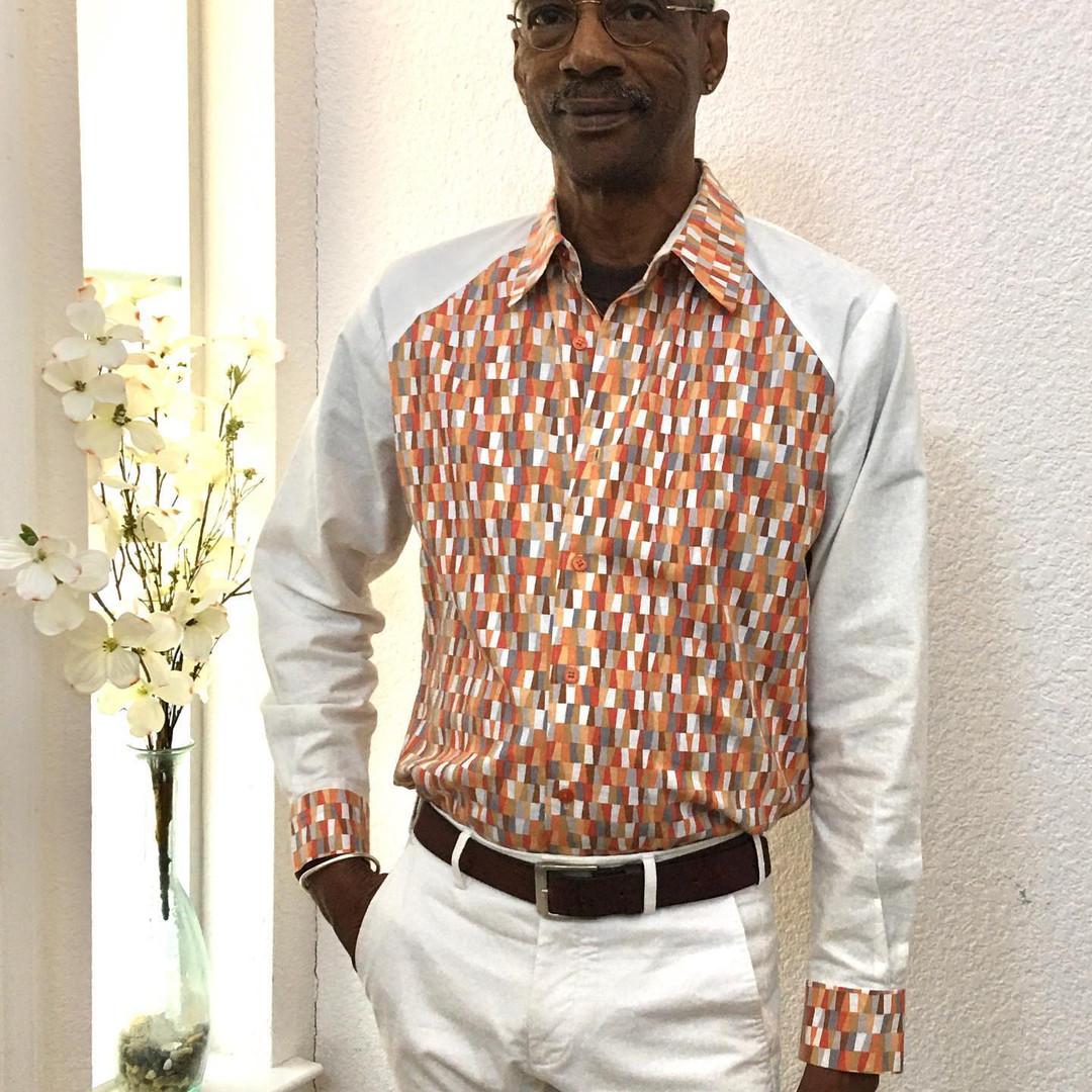 Angled Yoke Front Shirt