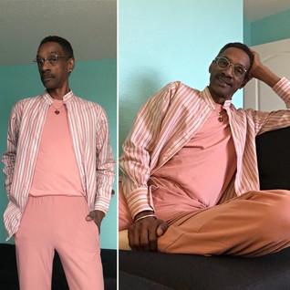 Pink Knit Set.