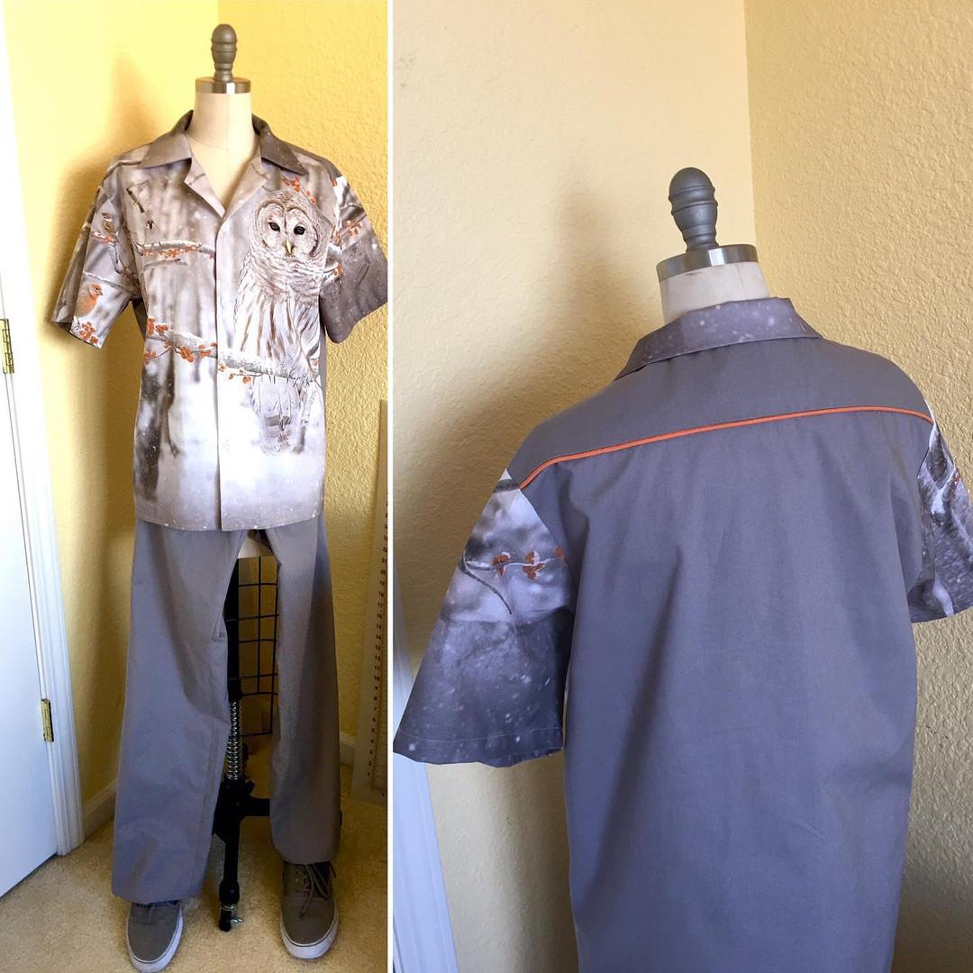 Digital Print Shirt w/pants
