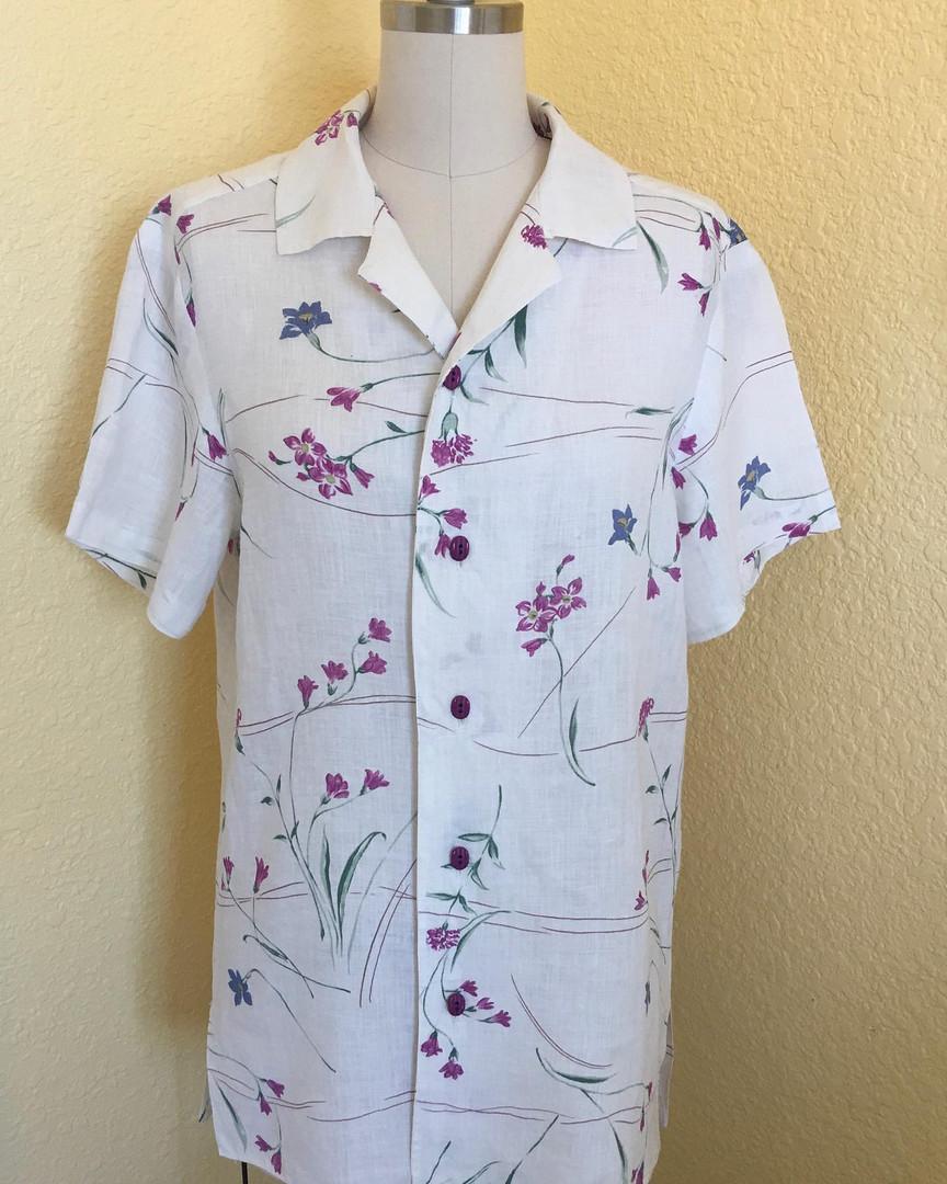 Linen Campr shirt