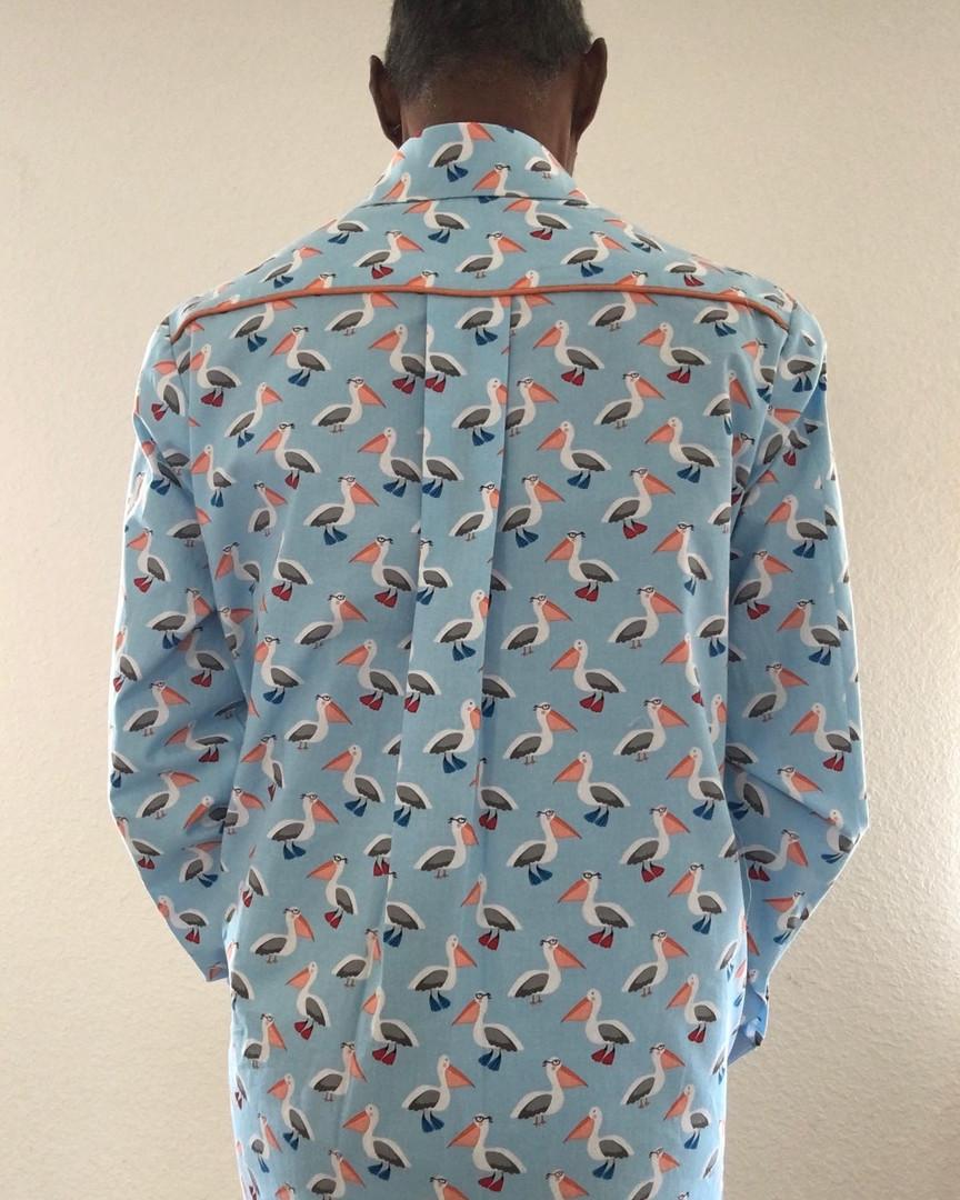 Crazy Pelican Shirt (back view)