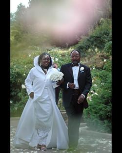 Simone Taylor's wedding