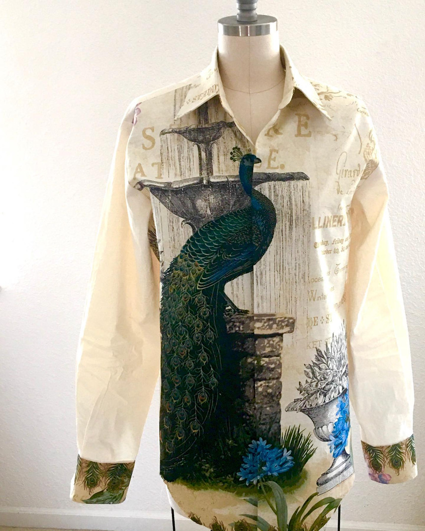 Peacock Shirt.