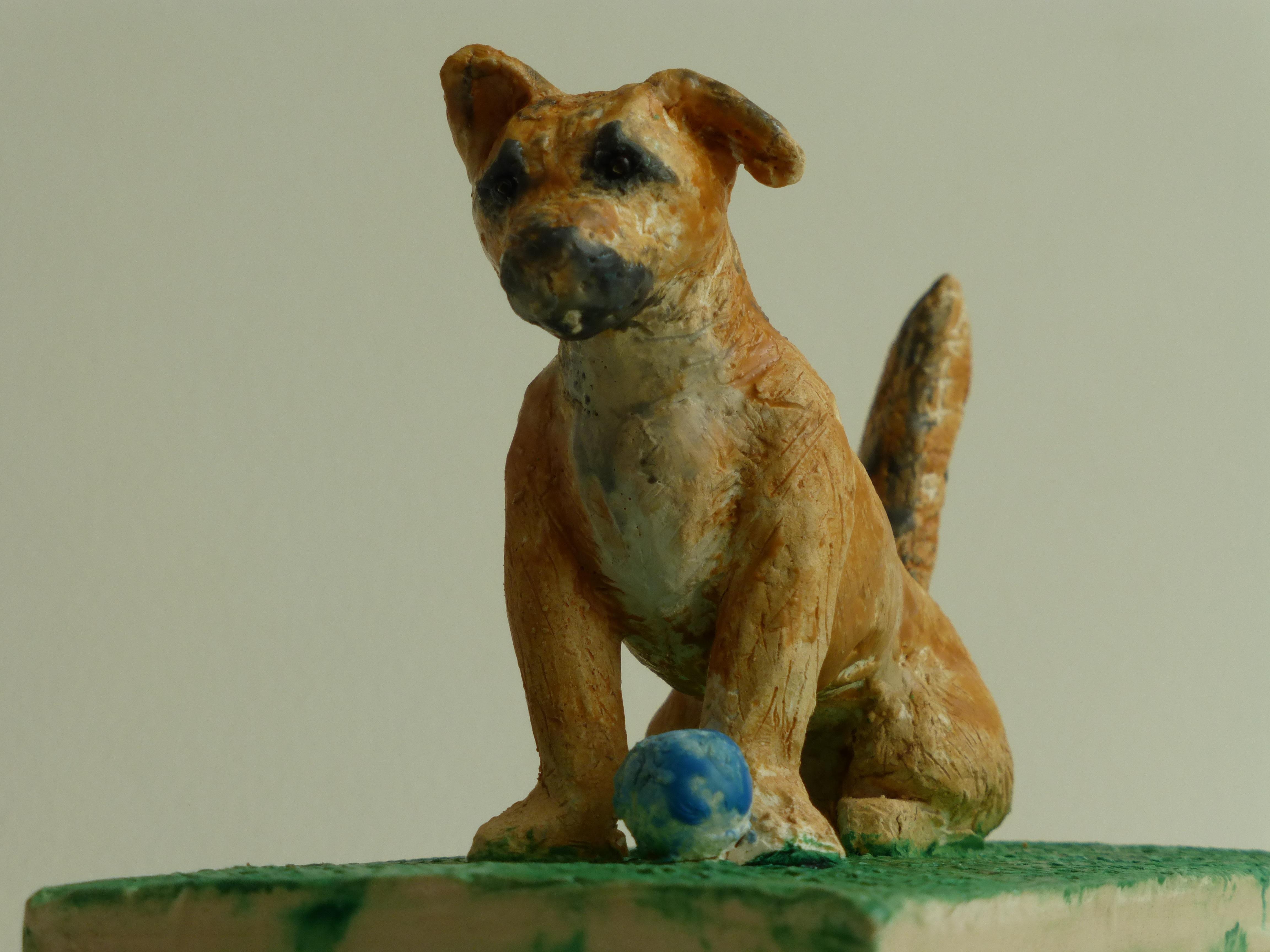 Angel Dog-Baller Extraordinaire-SOLD