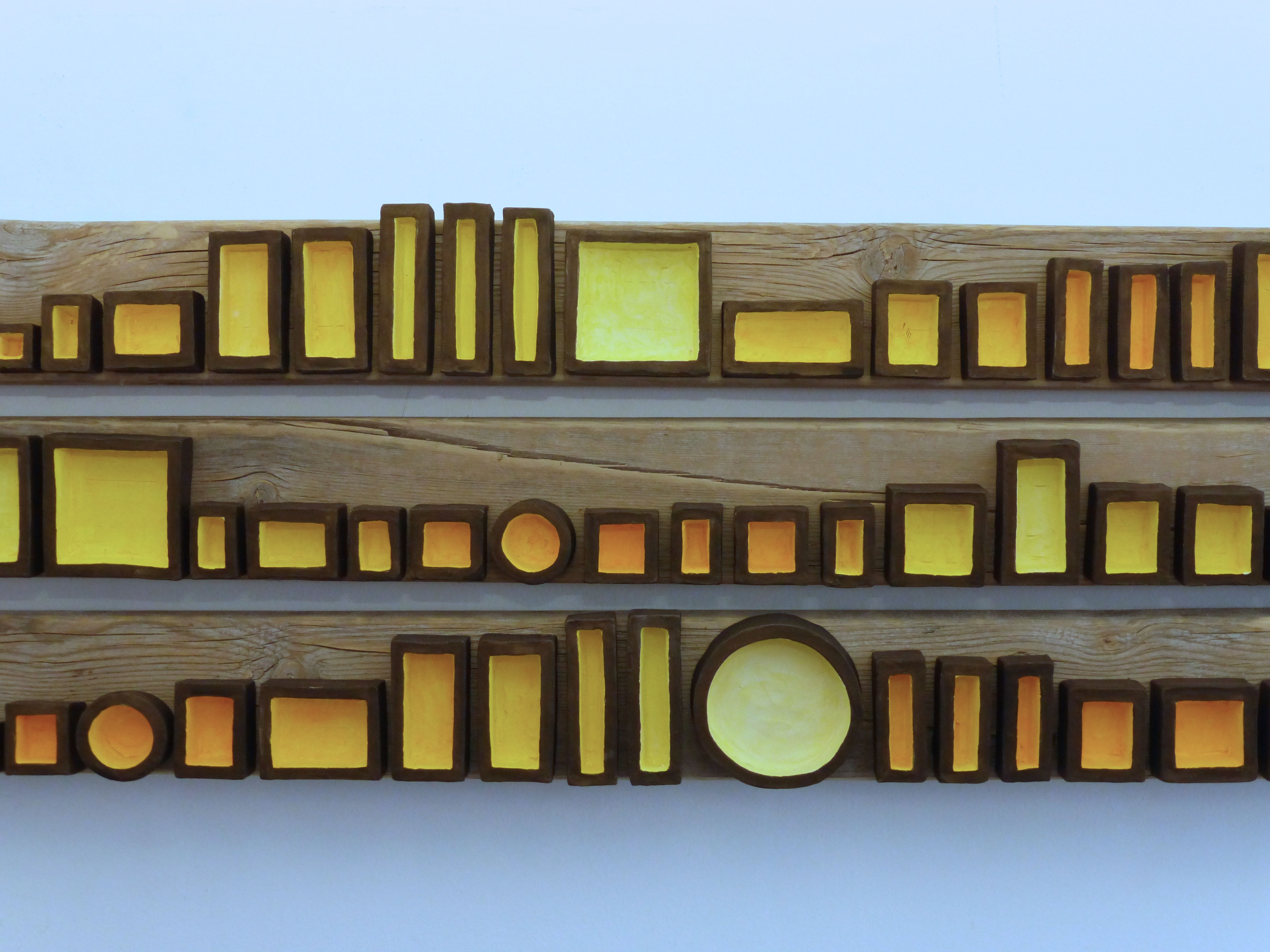 Assemblage in Yellow (detail)