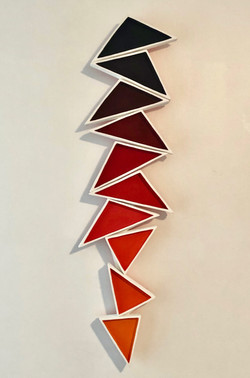 untitled (triangle stack)