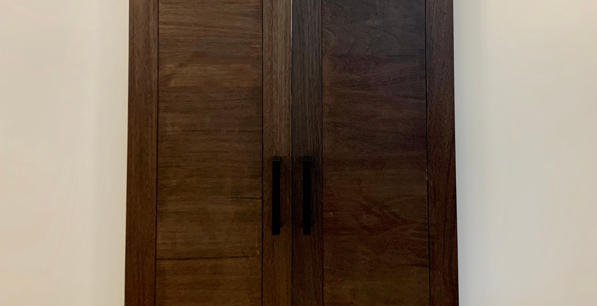 "Double 21""WX84""H Flat Panel Barn Doors"