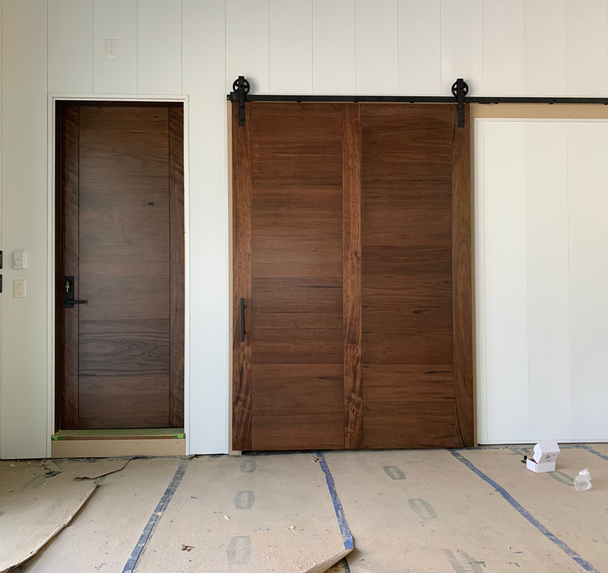 "Semi-Custom 66""W x 96"" T Flat Panel Barn Door"