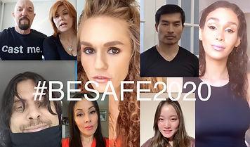 #BESAFE2020 Cast