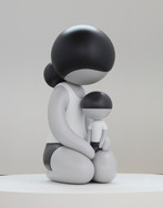 Mother and Child 64 x 31 x 34 in 162.6 x 78.7 x 86.4 cm Fiberglass Edition of 3 + 2AP