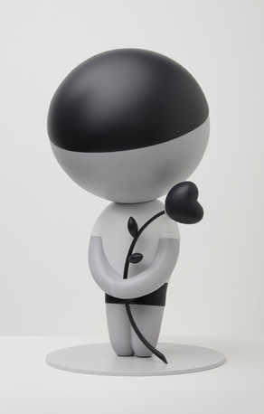 Lover Boy 20.5 x 12 x 12 in 52.1 x 38.1 x 38.1 cm Aluminum Edition of 10 + 2AP