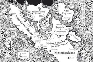Detailed Atlas map