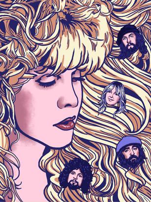 Stevie Nick and Fleetwood Mac