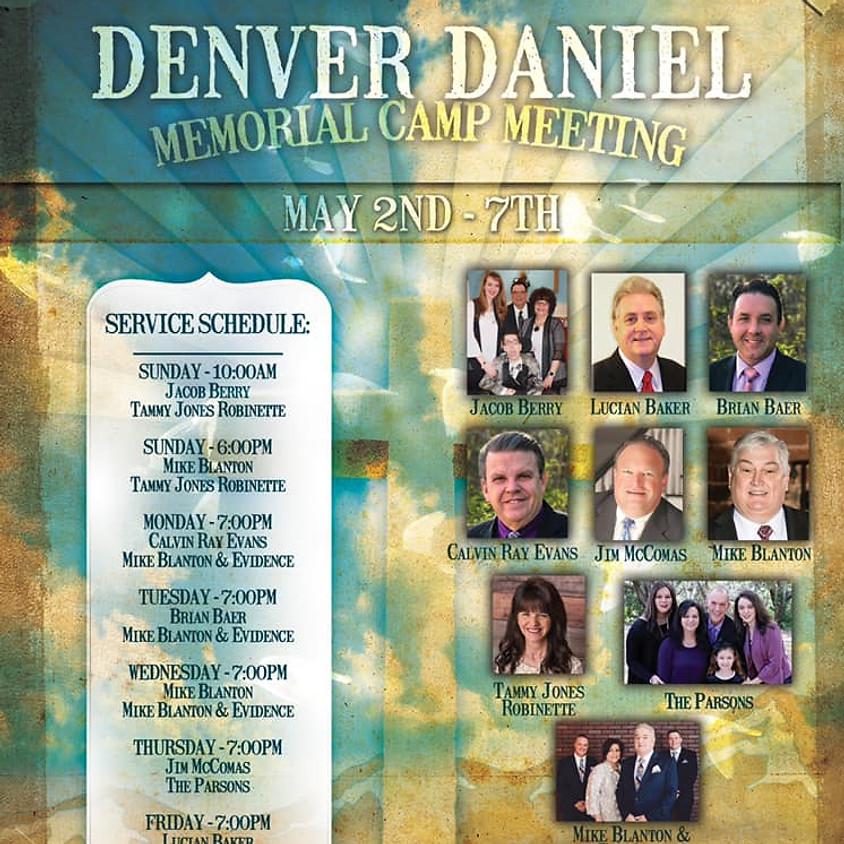 Denver Daniel Memorial Camp Meeting