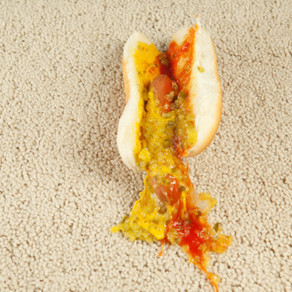 There's a Hot Dog on the Floor