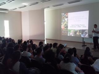 Mais de 80 pessoas compareceram à palestra sobre nutrição de animais silvestres no Cemafauna