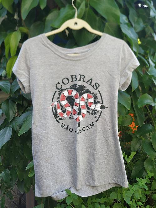 Camisa Cobras não piscam