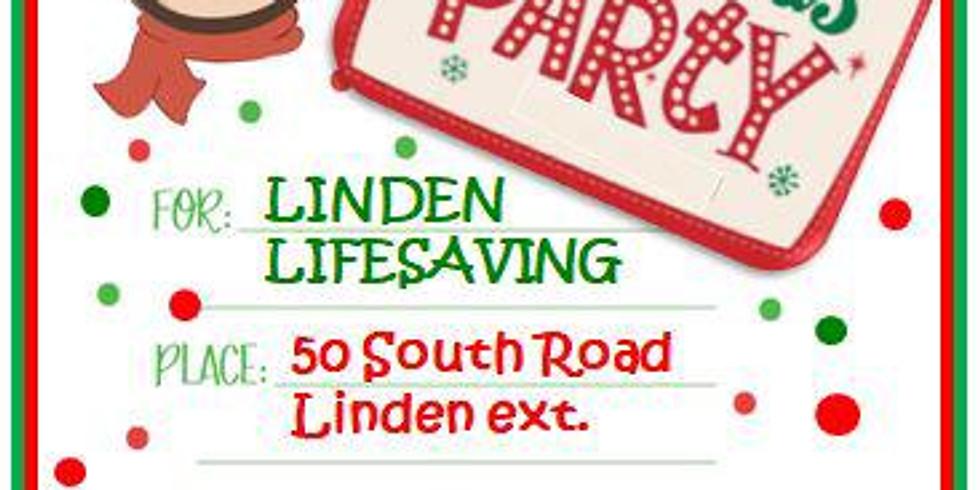 Linden Lifesaving Christmas Party