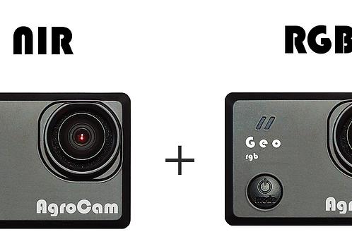AgroCam Geo NIR + AgroCam Geo RGB (dual camera NDVI)
