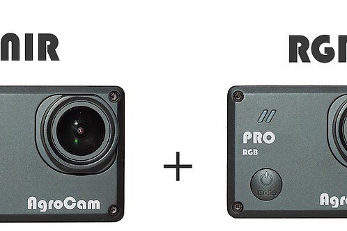 AgroCam Pro NIR + AgroCam Pro RGB (dual camera NDVI)