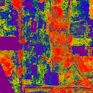 NDVI colormap
