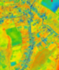 NDVI map of Nyíri