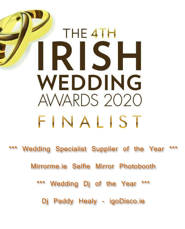 Irish Wedding Awards 2020 Logo with Text