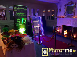 Mirrorme setup at Bunratty Castle Hotel