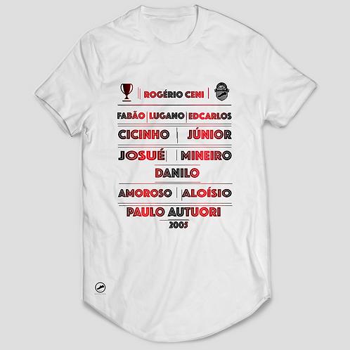 Camisa - Máquina do São Paulo 2005