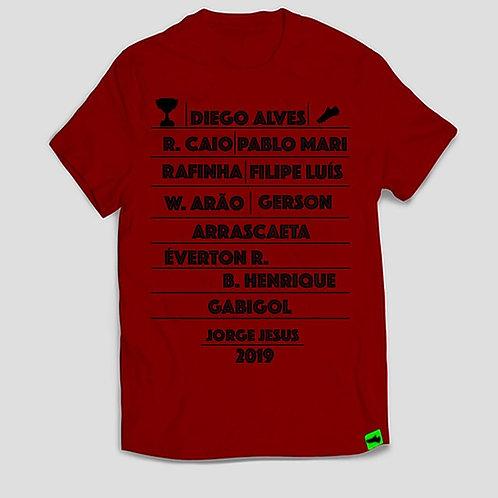 Camisa - A Máquina do Flamengo de 2019.