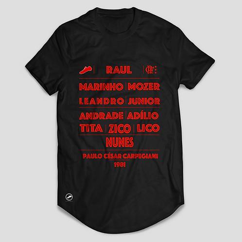 Camisa Máquina do Flamengo 1981 - Preta