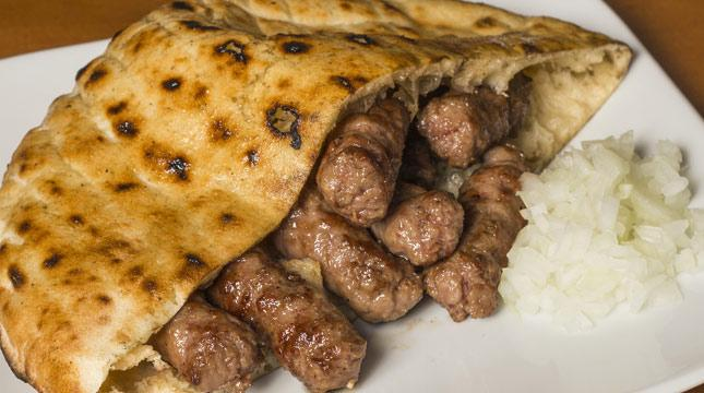 Try ćevapi