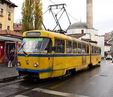 Learn about the Sarajevo trams and take a ride through the city