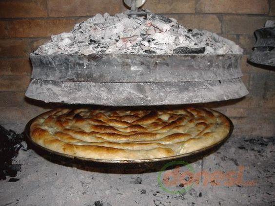 Try a pita under Sač