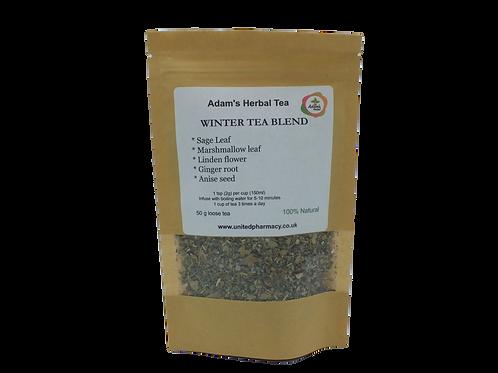 Winter Tea Cold & Flu 50g - Premium Herbal Loose Tea Blend - 100% Natural