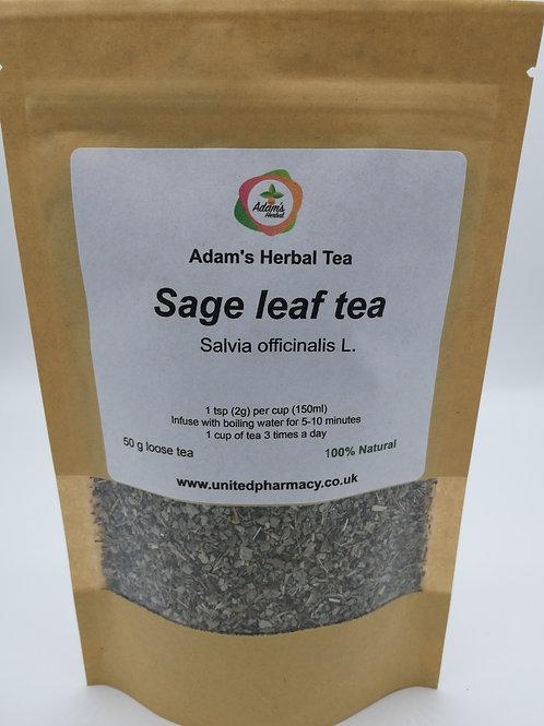 Sage Leaf Tea Premium Herbal Loose Tea 100% Natural, completely additive-free