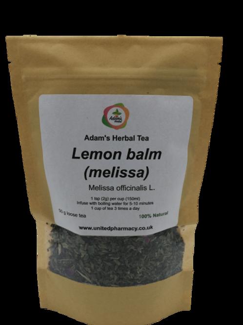 Lemon Balm ( Melissa) 50 gr Premium Herbal Loose Tea -100% Natural Herbal Tea