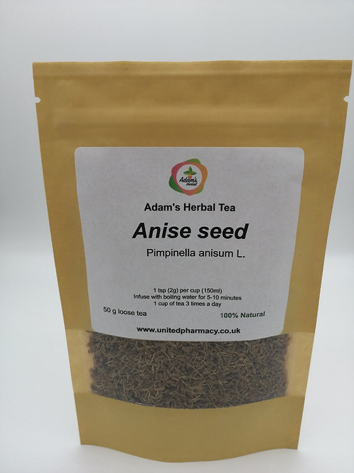 Anise seed Tea Premium Herbal Loose Tea 100% Natural, completely additive-free