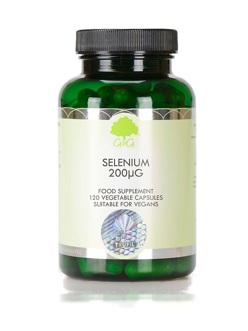 Selenium 200µg - 120 Vegan Capsules