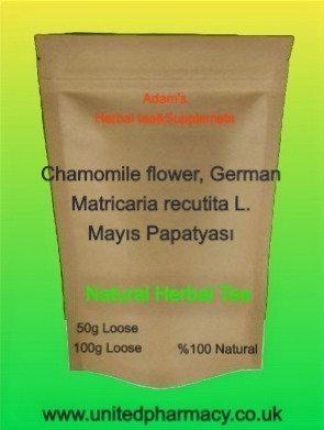 Chamomile flower, German